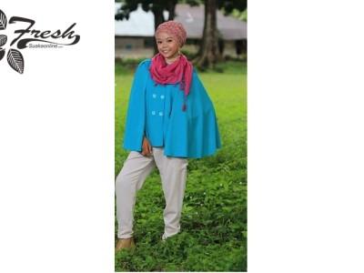 Trend mode hijiab casual elegant yang simple tapi tetap kelihatan modis dan tidak glamour(  Delvia Yosa Amanda/Suaka)