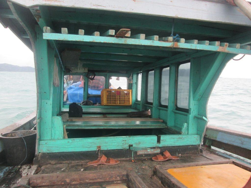 Kapal Tradisional salah satu akses transportasi yang digunakan untuk mengunjungi lokasi Pulai Picago
