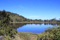 Keindahan salah satu telaga yang terletak sebelum mencapai puncak Gunung Talamau Rajo Dewa.
