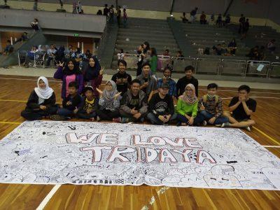 Komunitas Doodle Art Bandung. Putri Zahra/ Magang.