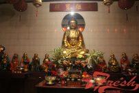 Patung di Vihara